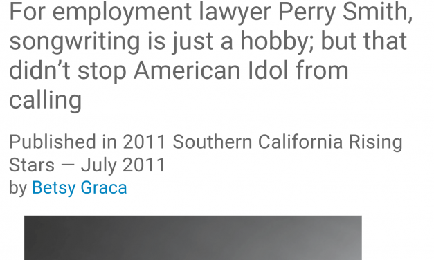 Superlawyer Article Re American Idol Song