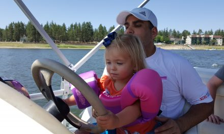 Romy Learns to Drive (at 2)